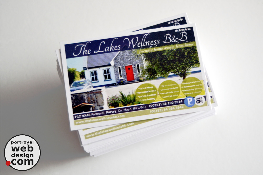Portroyal graphic web design business cards design print business cards design print ballinrobe mayo reheart Gallery