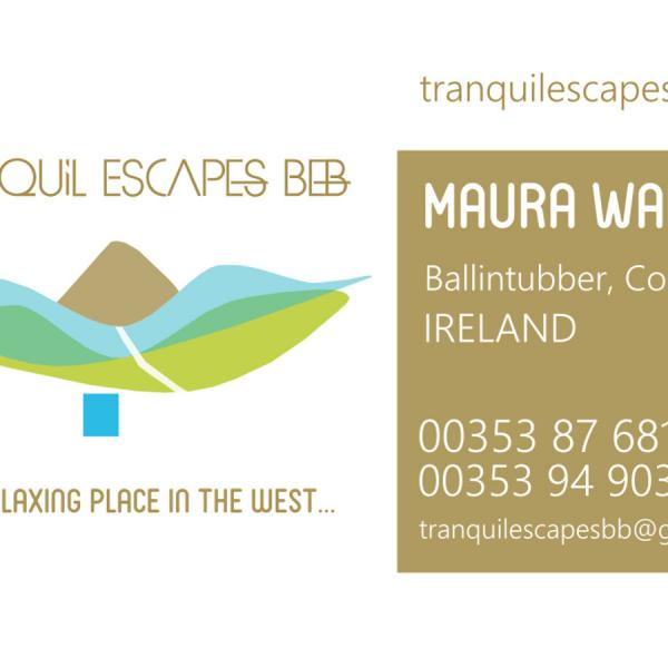 BUSINESS CARDS DESIGN BALLINTUBBER CASTLEBAR MAYO
