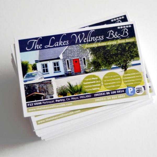 BUSINESS CARDS DESIGN & PRINT BALLINROBE MAYO