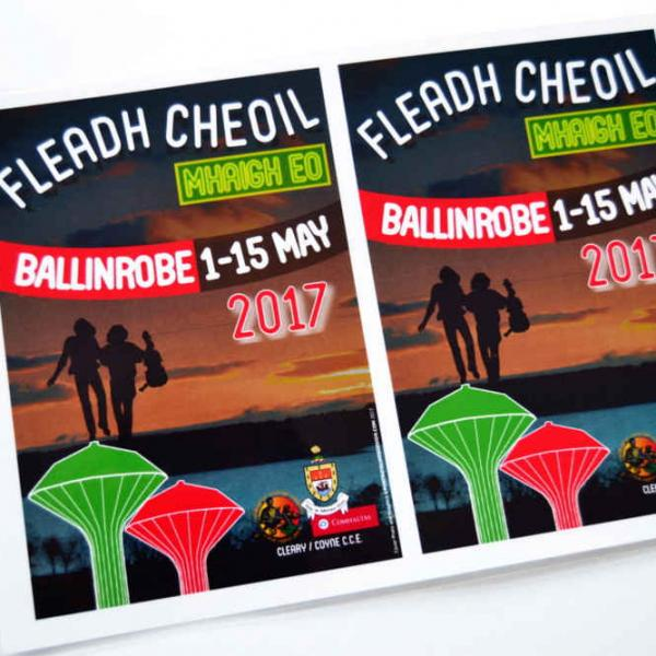 GRAPHIC DESIGN BALLINROBE MAYO