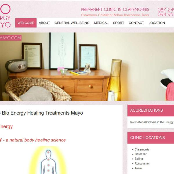 WEBSITE DESIGN BALLINROBE CLAREMORRIS MAYO