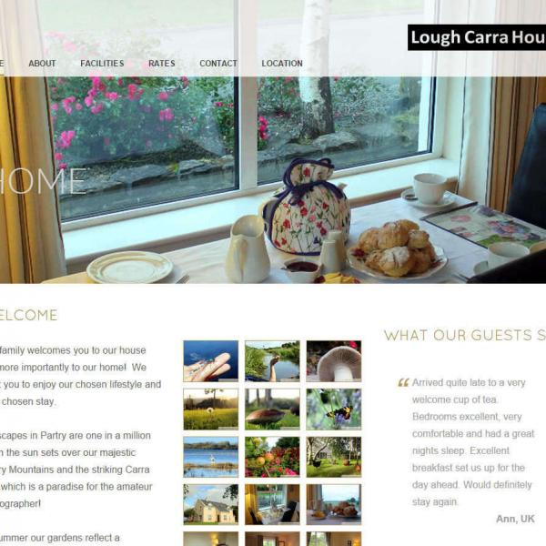 WEBSITE DESIGN PARTRY BALLINROBE MAYO